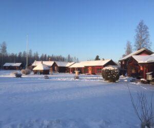 vinterbild gården